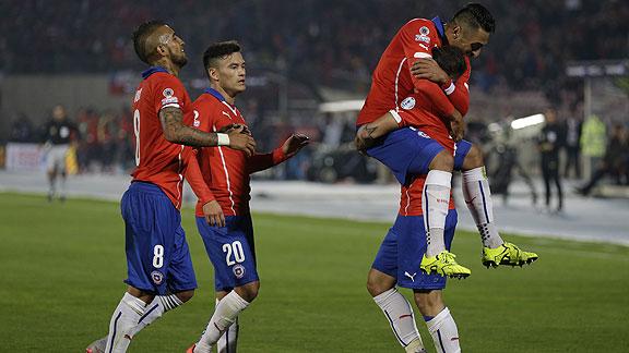Chile empezo ganando