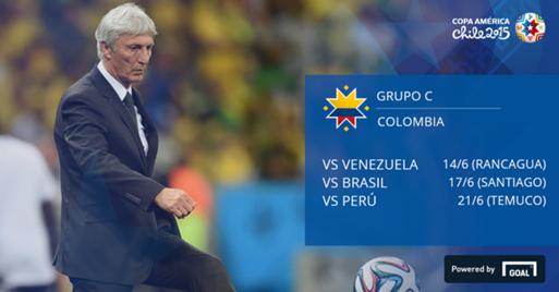 Colombia Grupo C