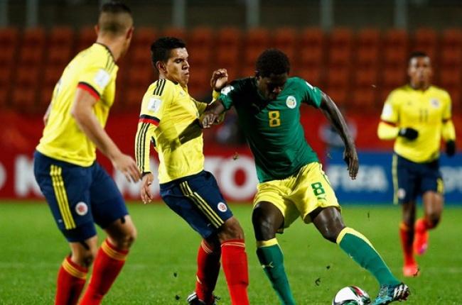 Colombia empato con Senegal