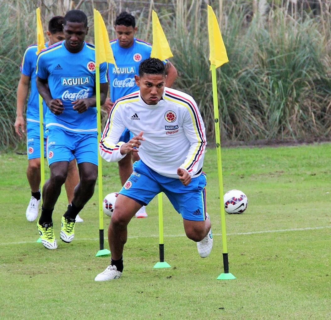 Colombia entreno en dos jornadas2