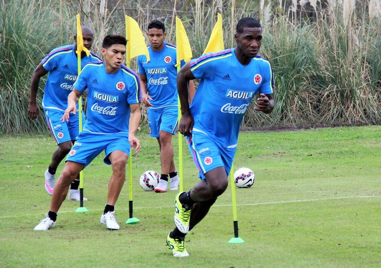 Colombia entreno en dos jornadas3