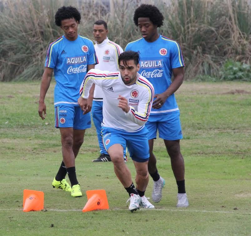 Colombia entreno en dos jornadas4