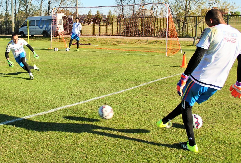Colombia sigue entrenando en Buenos Aires