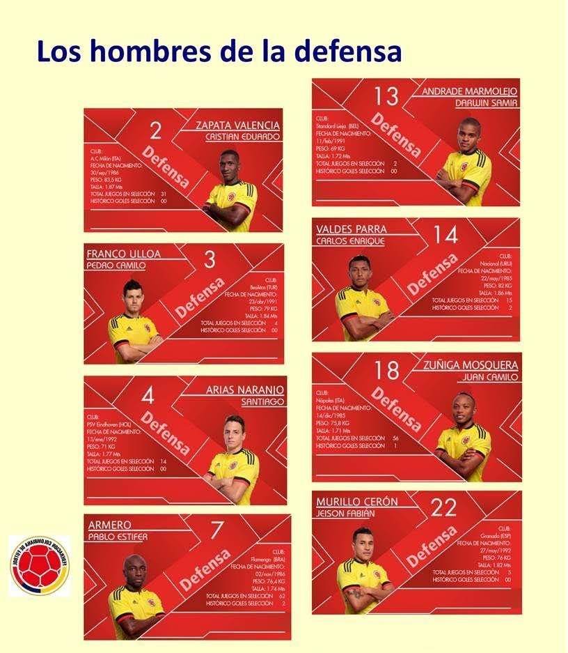 Defensas Colombia