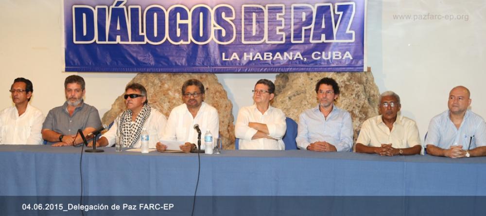 Delegación de Paz Farc 040615