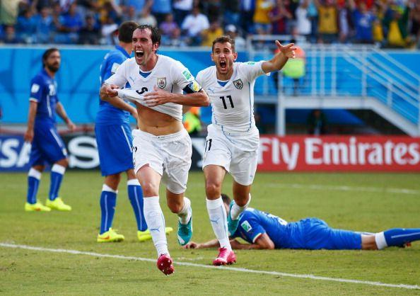 Diego Godín reemplaza a Lugano como el gran capitán de este Uruguay siempre fuertísimo en lo anímico