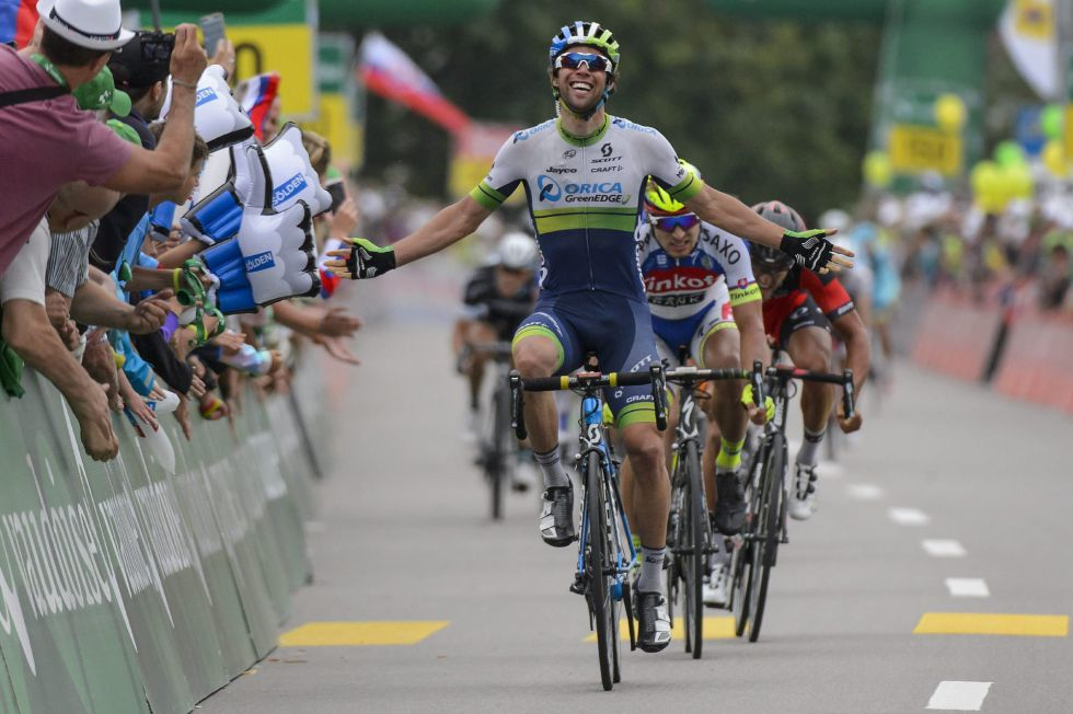 El ciclista australiano Michael Matthews