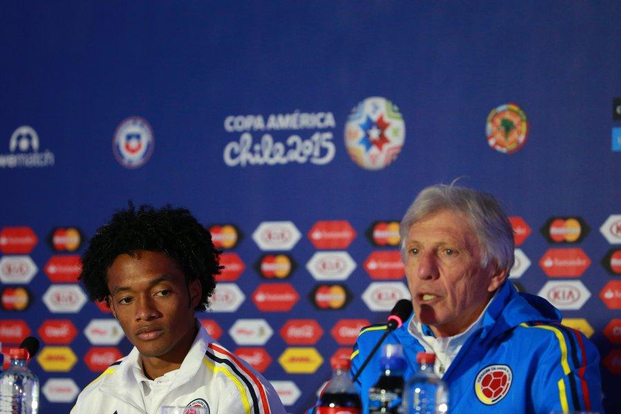 El entrenador de la selección de Colombia, José Pekerman3