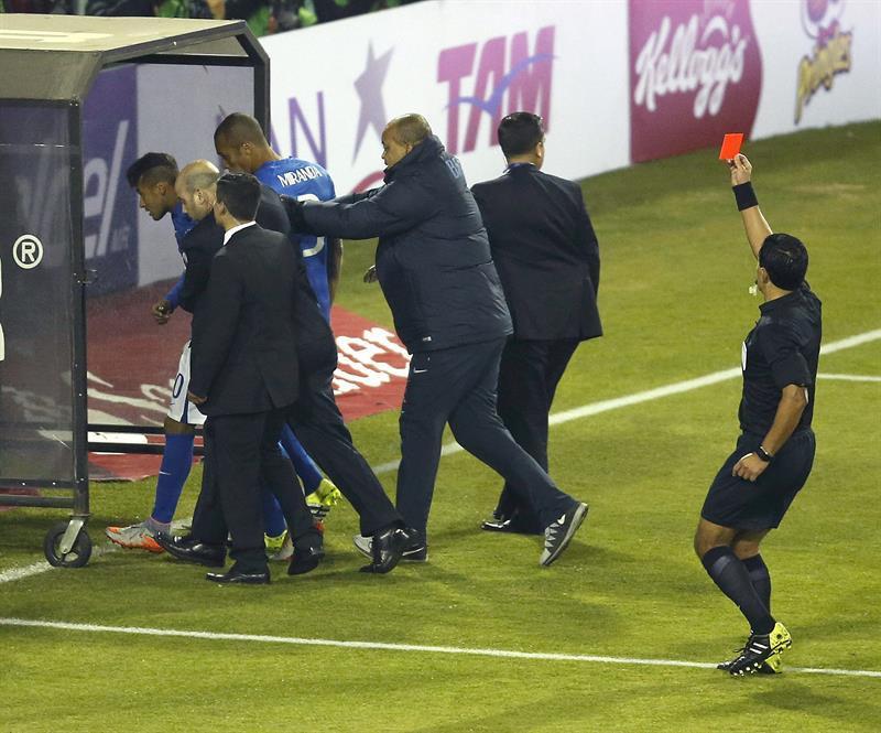 Expulsion Neymar