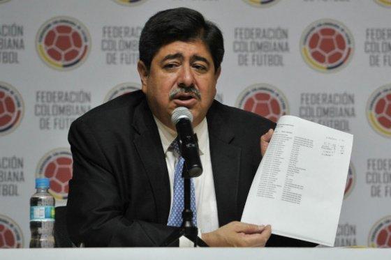Luis Bedoya, presidente de la FCF