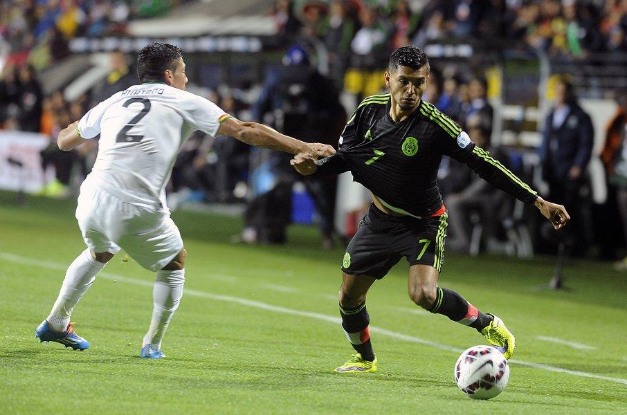 Mexico empate con Bolivia
