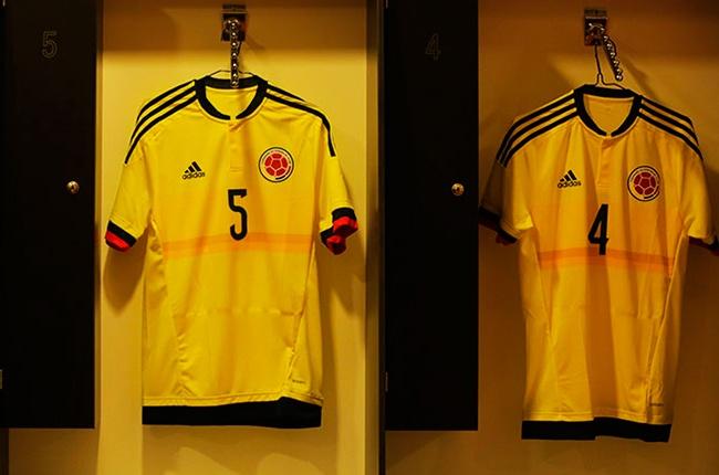 Números de Colombia en la Copa