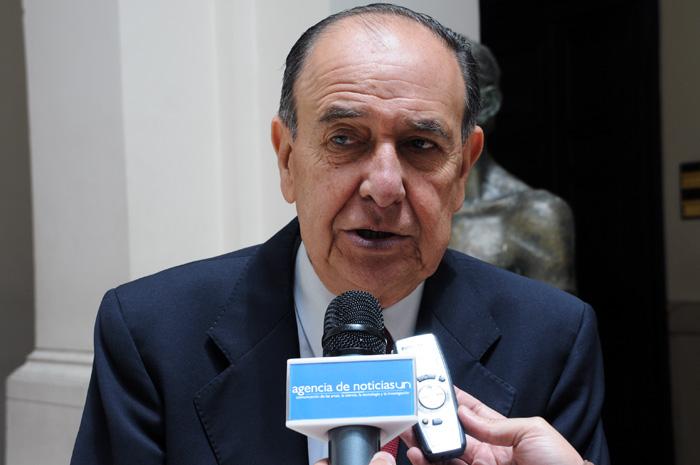 Víctor Manuel Moncayo, director del informe de la Comisión Histórica del Conflicto Colombiano