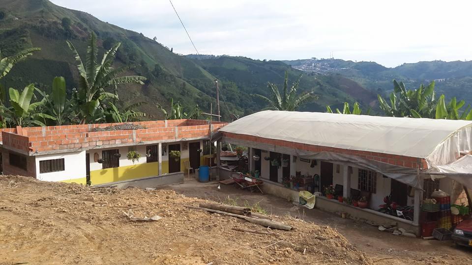 Vivienda rural en la vereda Pan de Azucar(Neira).