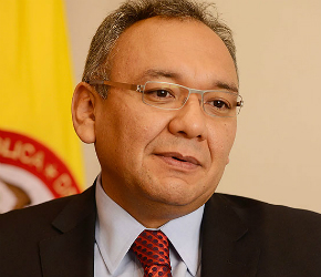 emiliano_rivera presidente del Consejo Nacional Electoral (CNE)