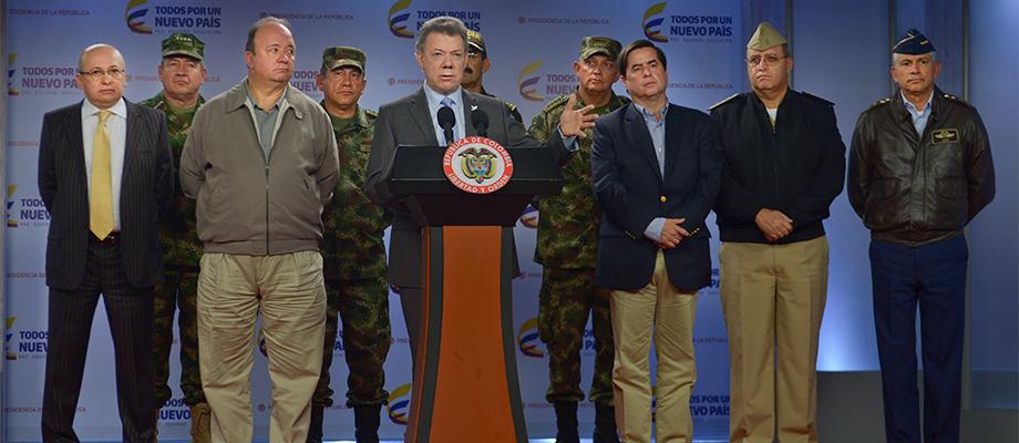"""""""Al terrorismo lo tenemos que derrotar entre todos"""", dijo el Presidente, que recalcó la importancia de la colaboración ciudadana"""