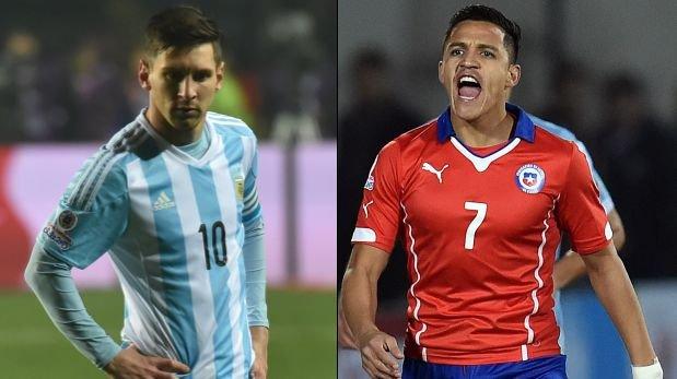Argentina -Chile  La Final