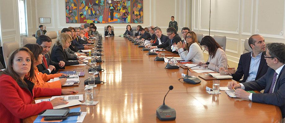 El Jefe del Estado encabeza sesión del Consejo Nacional de Política y Económica y Social.-Foto: Juan David Tena - SIG
