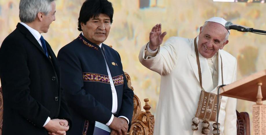 El Papa en Bolivia