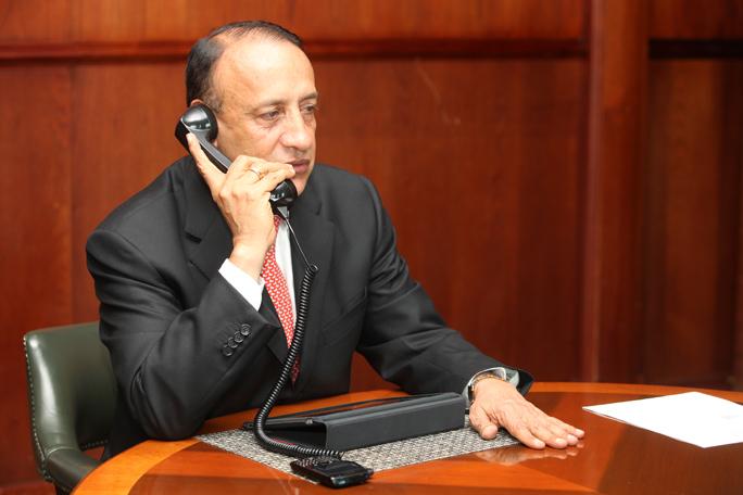 Gobernador de Cundinamarca Alvaro Cruz Vargas