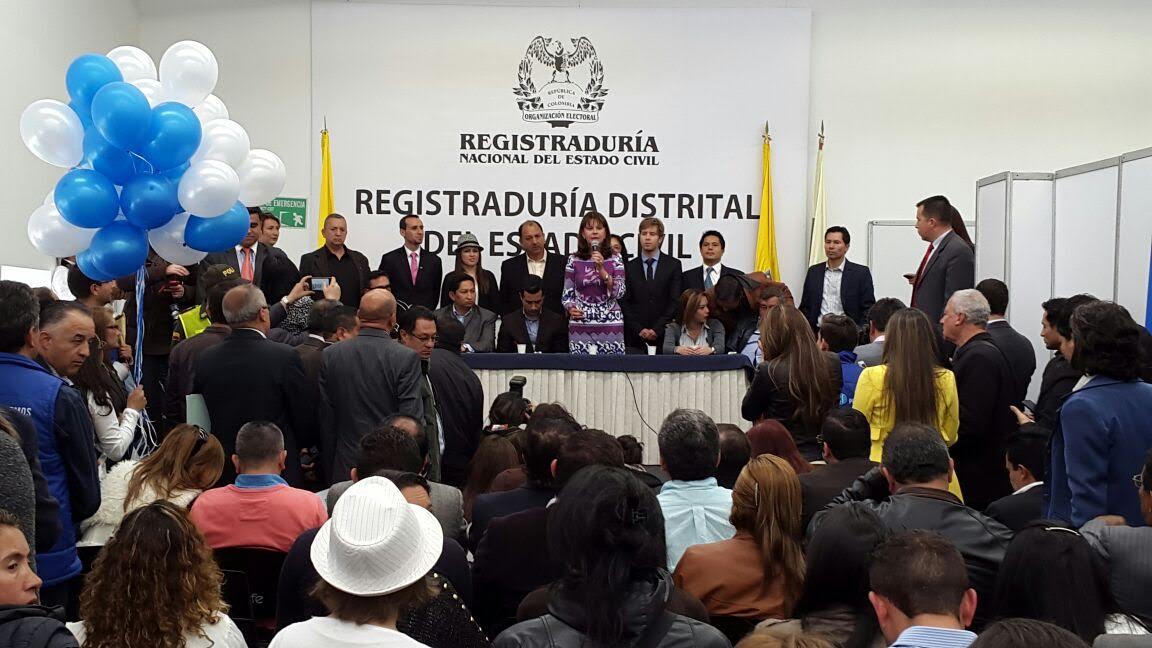 Inscripción de Conservadores al Consejo en Bogotá