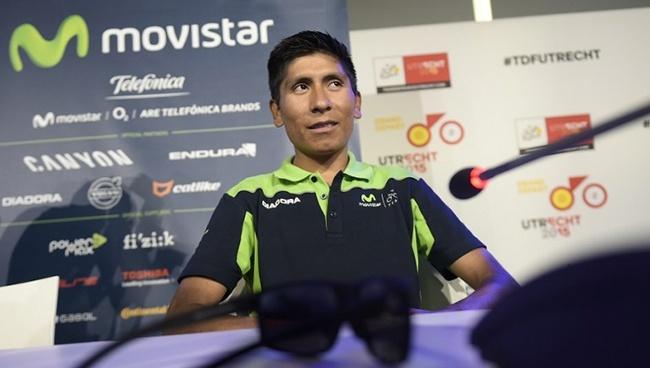 Nairo Quintana por el Tour