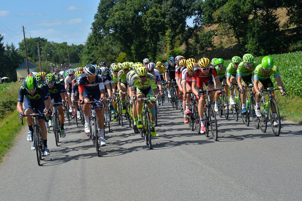 Tour de France 2015 - 11/07/2015 - 8ème Etape - Rennes / Mur de Bretagne - 181,5 Km - Toutes les équipes tentent de prendre la tête des operations