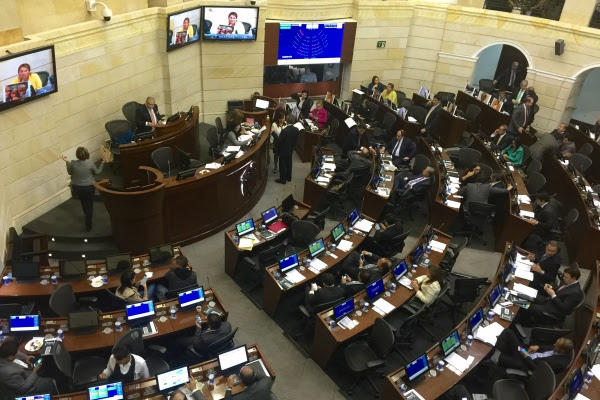 Plenaria del Senado 29 Julio