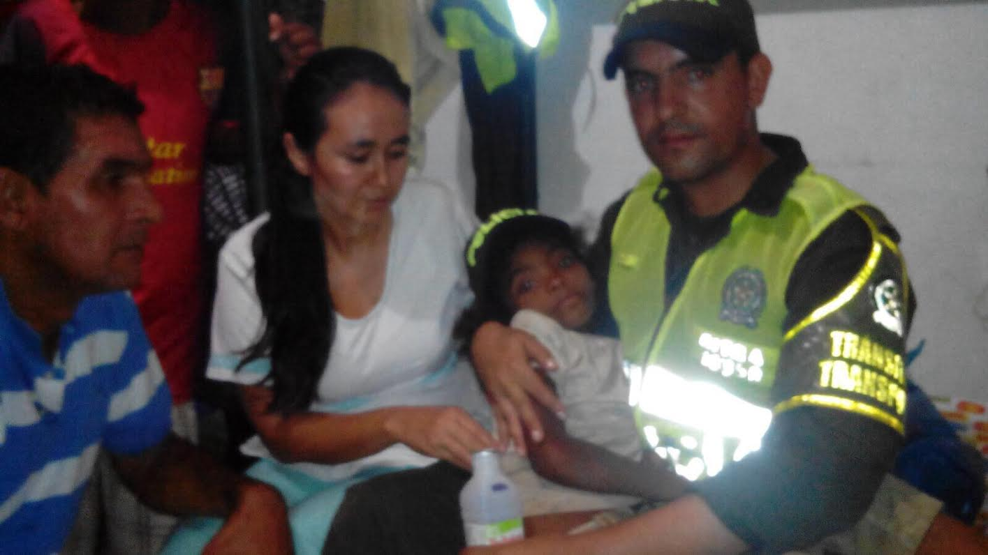 Policía Nacional acaba de encontrar a la niña Jessica Patricia Arias