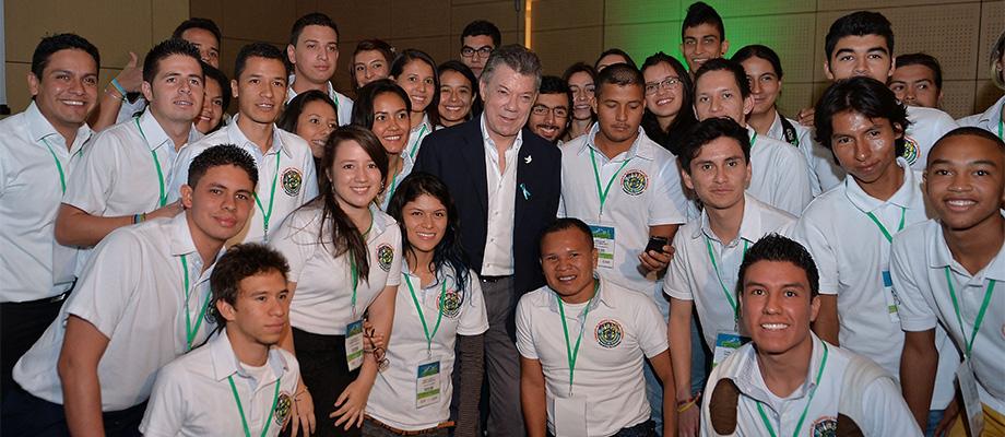 Preservación del ambiente para las futuras generaciones es prioridad para el Gobierno del Presidente Santos