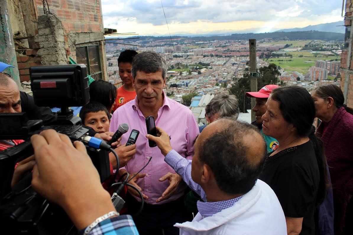 Rafael Pardo en el Codito