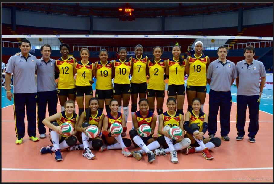 Selección Colombia femenina de voleibol