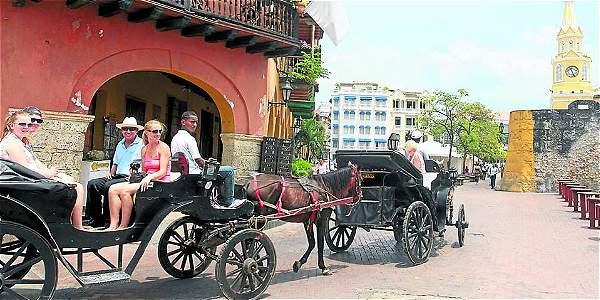 Turistas en Colombia