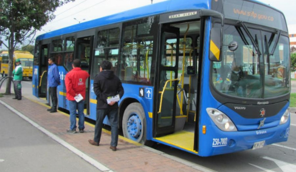 buses privados del SITP