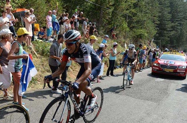 Járlinson Pantano, ciclista colombiano.Foto: Tomada de la página del IAM