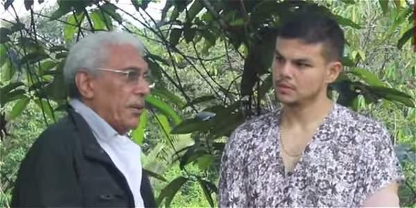 jefe guerrillero 'Joaquín Gómez' participó en la entrega del subteniente Moscoso