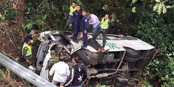 Accidente de Periodistas en Bucaramanga