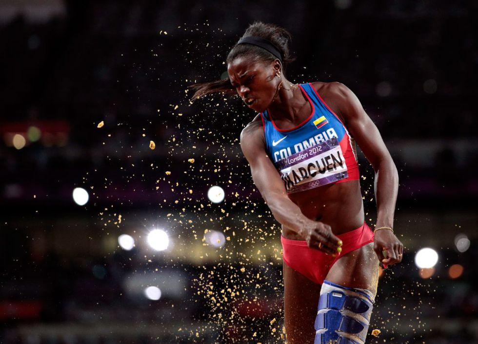 Caterine Ibarguen pasa a final de salto triple en Mundial de Pekín