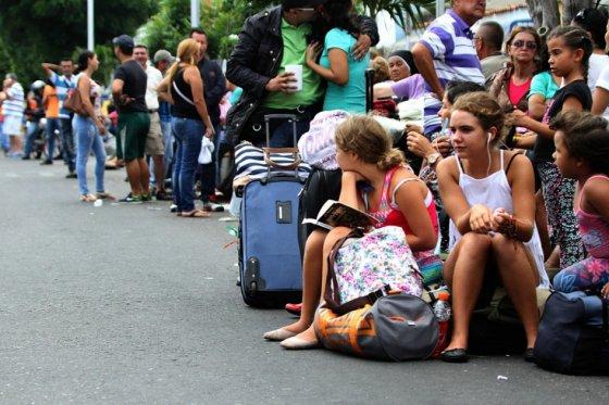 Colombianos deportados de Venezuela
