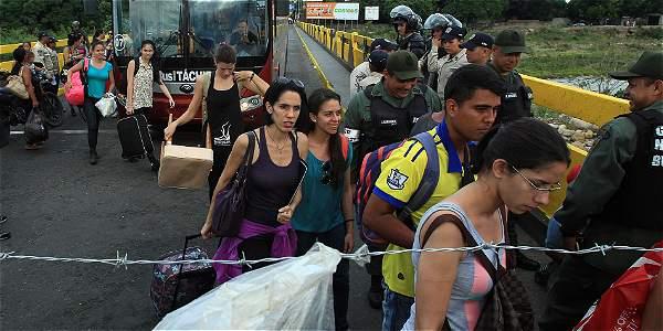Crisis con Venezuela