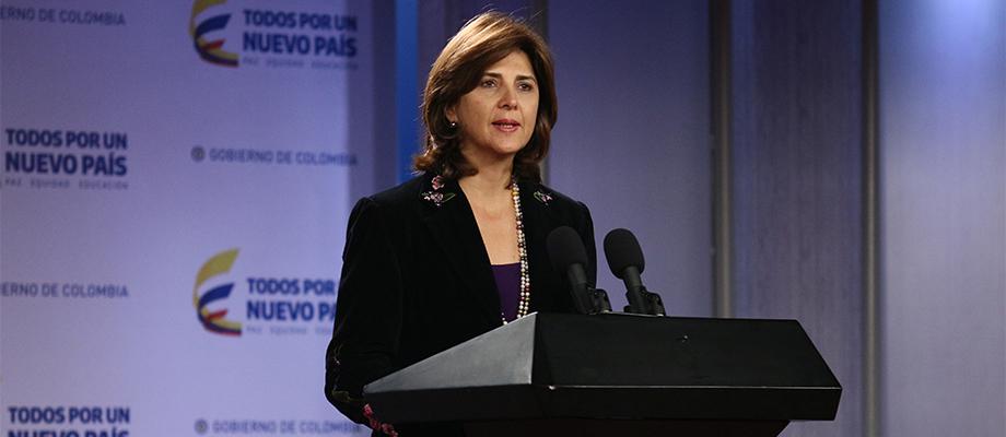 El que perdió fue el continente. Perdió la OEA, declaró la Canciller María Ángela Holguín