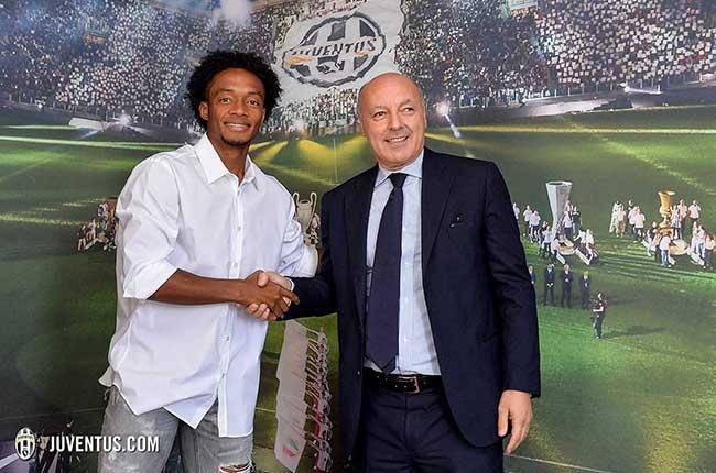 Juan Guillermo Cuadrado firmó con la Juventus2