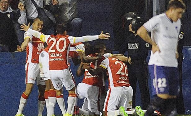 Nacional perdió por 2-0 ante el Independiente Santa Fe