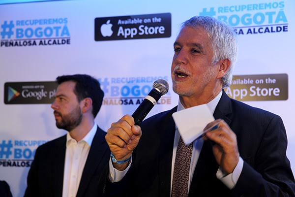 Peñalosa lanzó aplicación móvil para denunciar y gobernar juntos