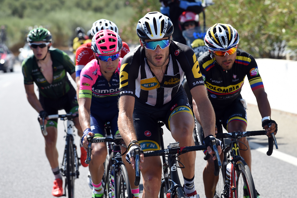Steve Cummings escapes on stage six of the 2015 Tour of Spain