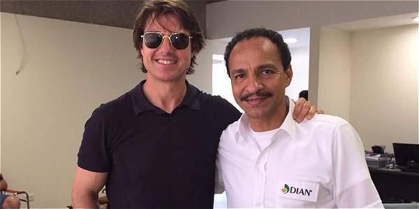 Tom Cruise en Colombia