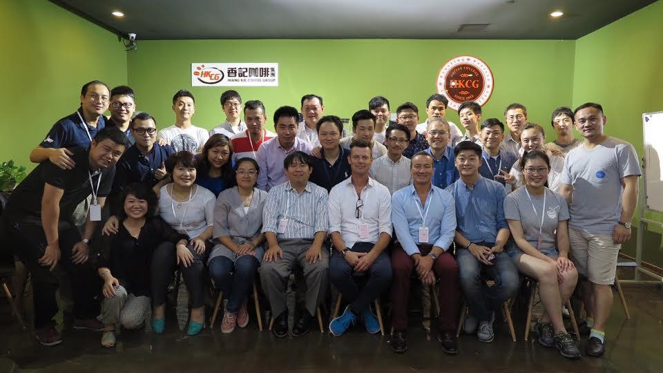 calidad y conocimiento al 3er Barista Camp, en Shanghái