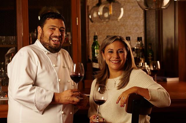 El chef Pedro Escobar y la sommelier Olga Herrera: la combinación perfecta. Foto: Expovinos 2015