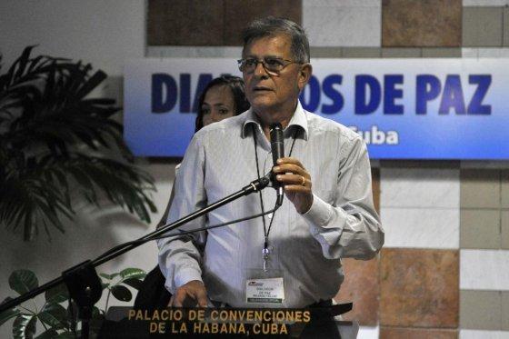 l negociador de las Farc 'Rodrigo Granda'.