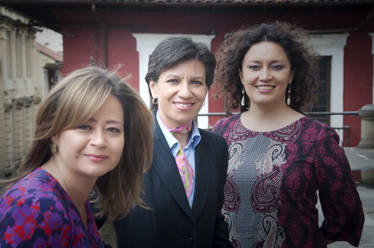 La-Concejal-María-Fernanda-Rojas-la-Senadora-Claudia-López-y-la-Representante-Angélica-Lozano